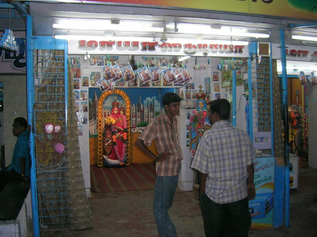 The religious souvenir industry in full swing