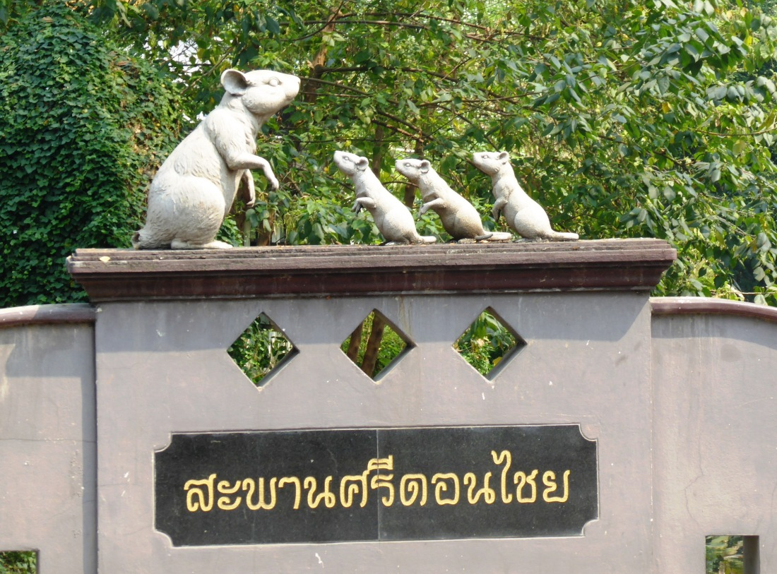 The Thais view rats somewhat differently than us....