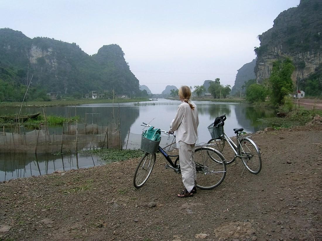 By bike in North Vietnam, 2006