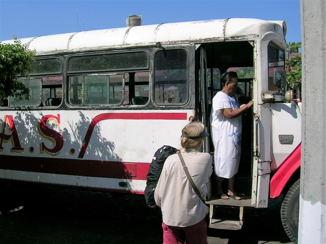 Local bus in Mexico, 2008