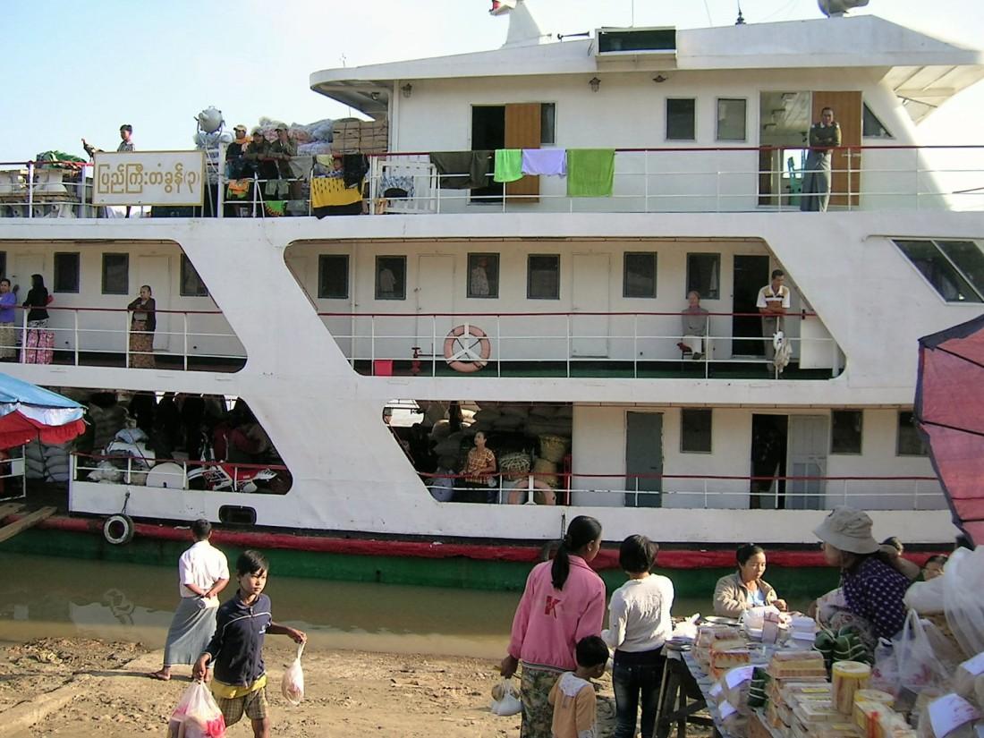 River boat, Burma, 2007